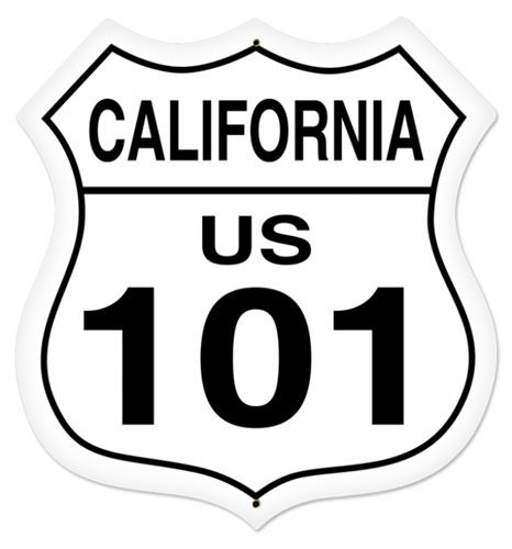 Route 101 - California Road Sign